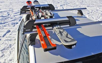 Багажник для перевозки лыж и сноуборда