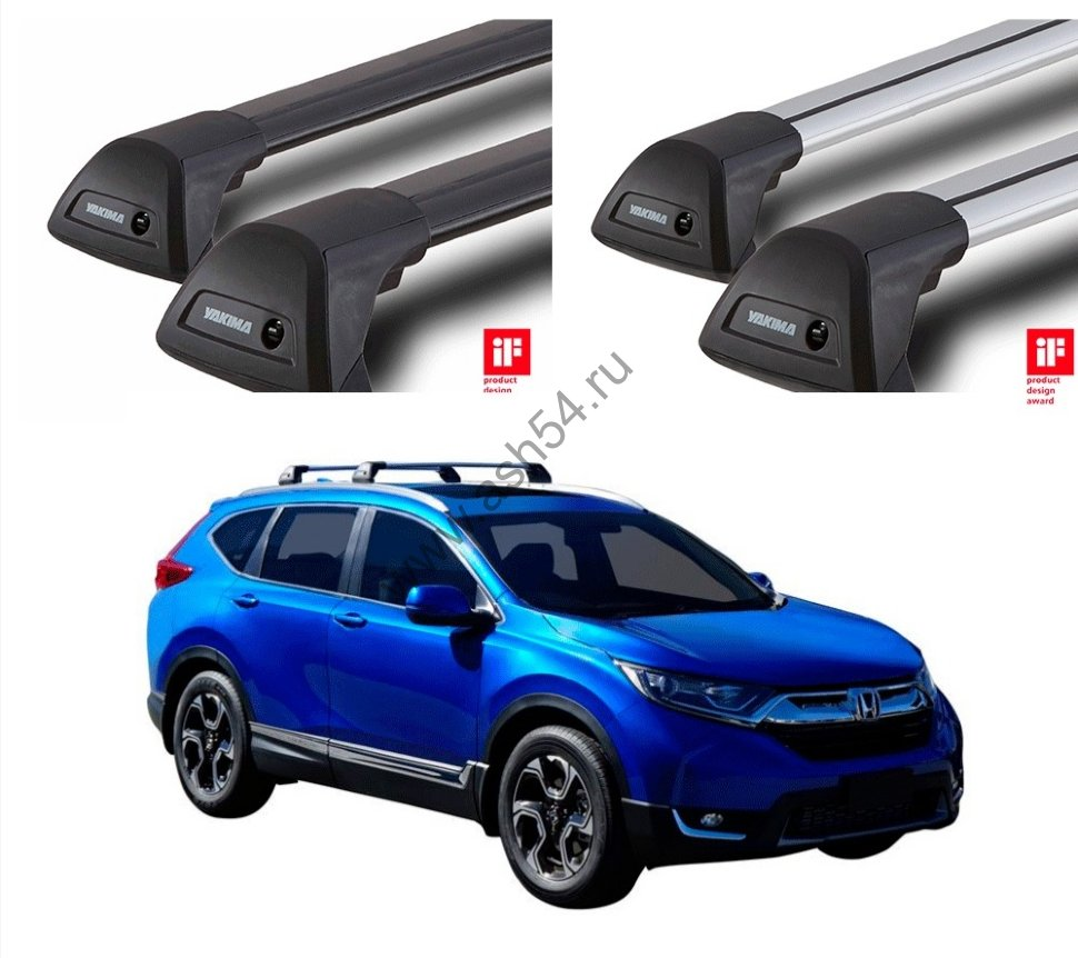 Багажник на крышу Yakima (Whispbar) Honda CR-V 5 Door SUV с 2018 г.
